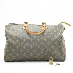 VINTAGE 1986 Louis Vuitton Speedy 40 Monogram Tote